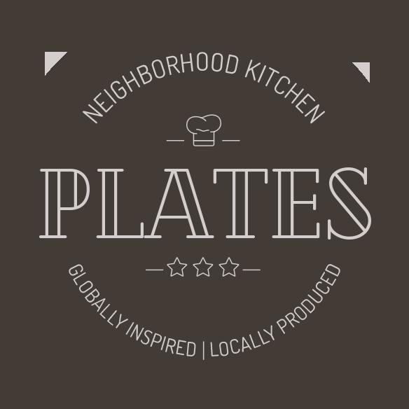 Plates Kitchen Retina Logo