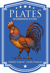 Plates Kitchen Retina Logo