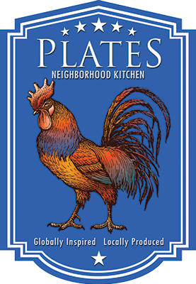 Plates Kitchen Logo